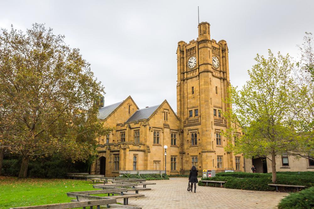 Đại học Melbourne, Australia. Ảnh: Shutterstock
