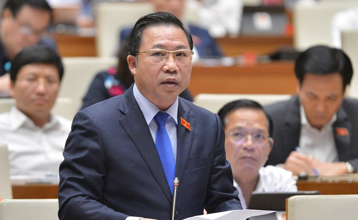Đại biểu Lưu Bình Nhưỡng, Phó trưởng Ban Dân nguyên. Ảnh: Trung tâm báo chí Quốc hội