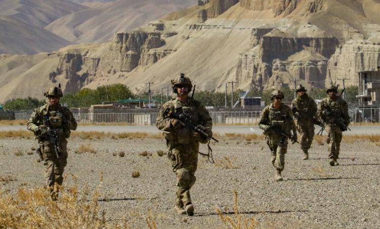 Lính Mỹ tuần tra ở đông nam Afghanistan hồi năm 2019. Ảnh: Bộ Quốc phòng Mỹ.