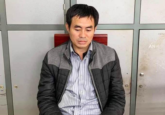 Lương Văn Tuấn tại cơ quan điều tra.
