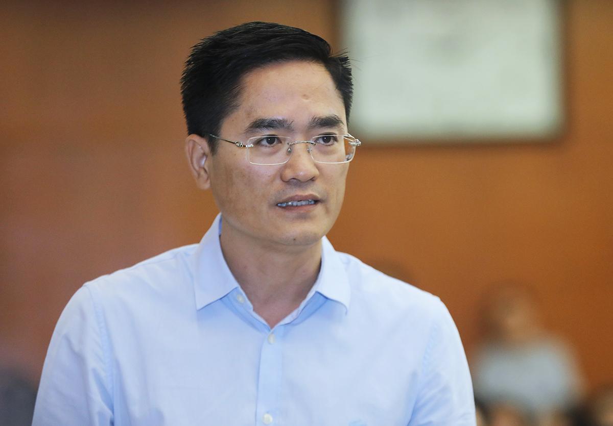 Giám đốc Sở Giao thông Vận tải TP HCM Trần Quang Lâm. Ảnh: Quỳnh Trần.
