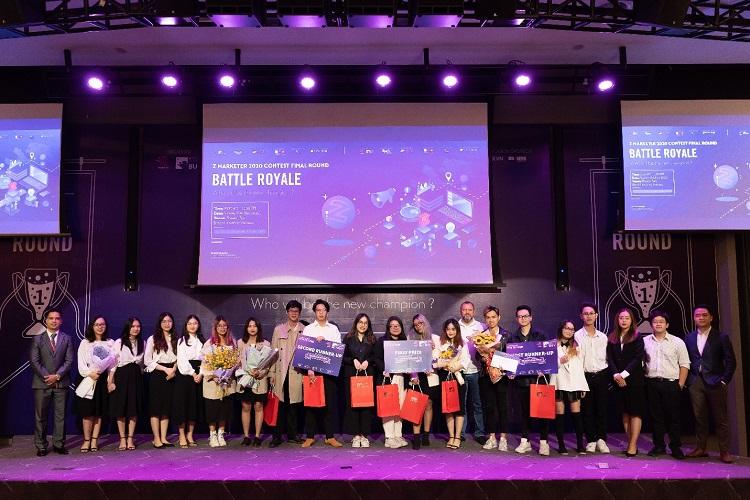 Cuộc thi thu hút nhiều bạn trẻ yêu thích Marketing tham gia.