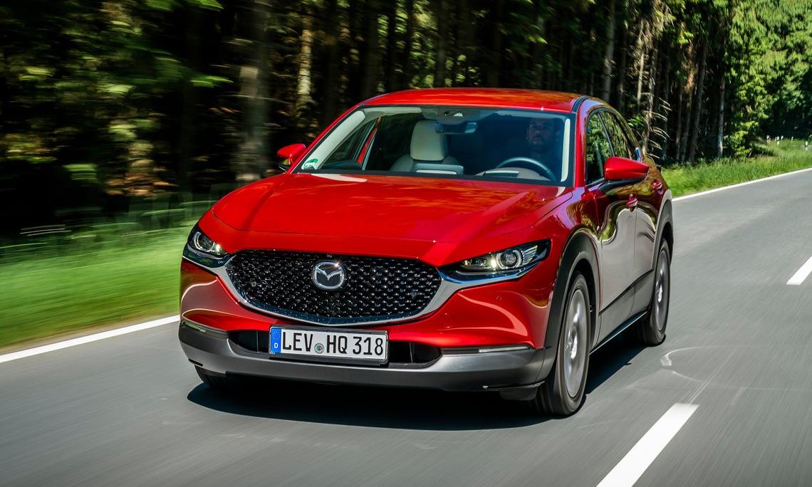 CX-30 - một trong số 7 sản phẩm của Mazda trong khảo sát. Ảnh: Mazda