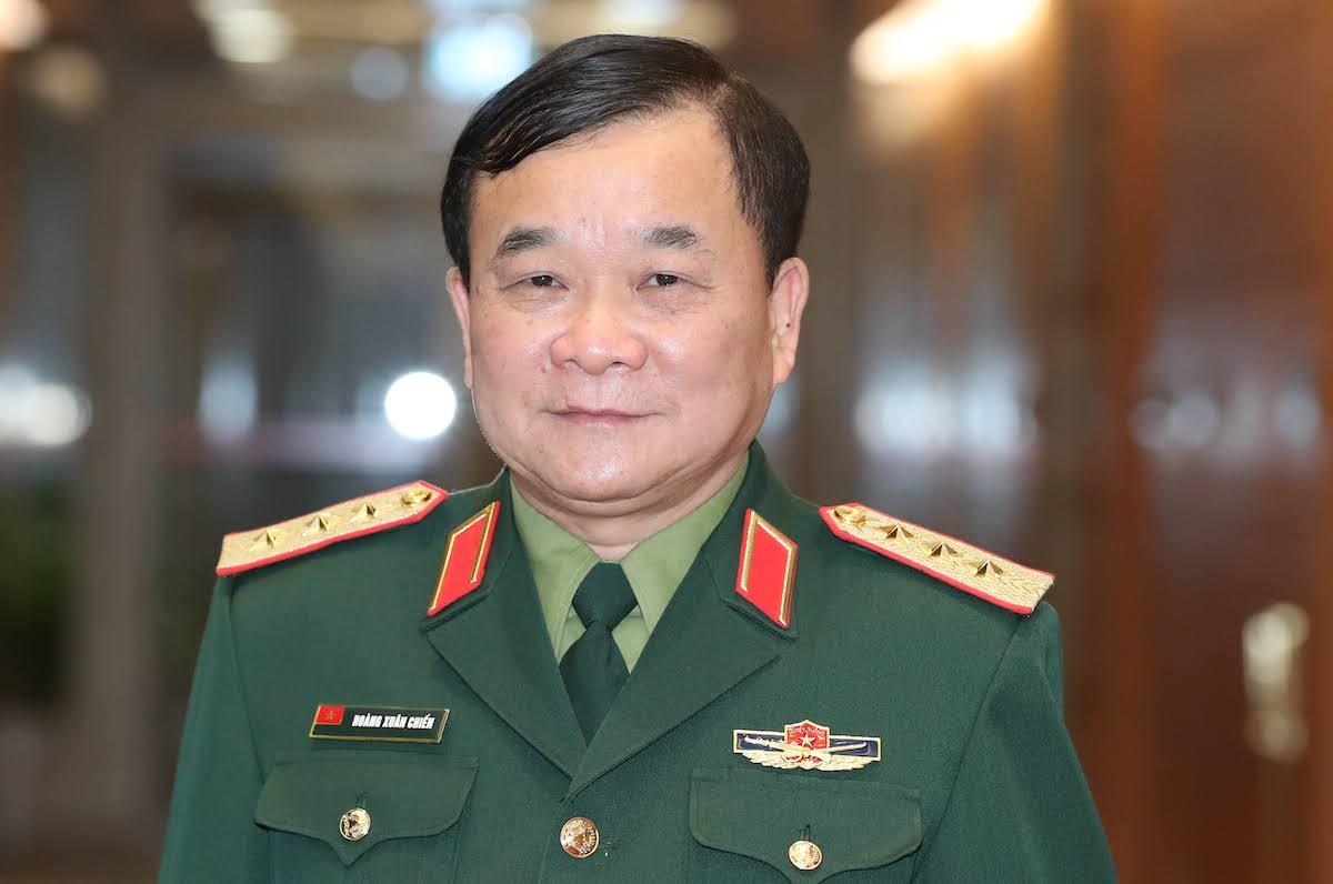 Thượng tướng Hoàng Xuân Chiến, Thứ trưởng Quốc phòng. Ảnh: Hoàng Phong