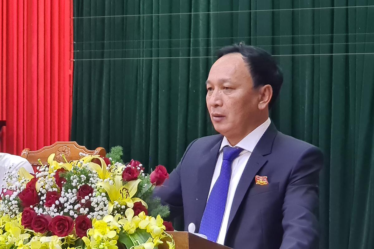 Ông Trần Hải Châu, Chủ tịch HĐND Quảng Bình. Ảnh: Quang Hà