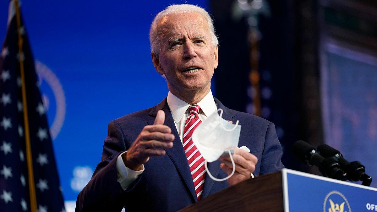 Tổng thống đắc cử Joe Biden phát biểu hôm 16/11 ở Wilmington, Delaware. Ảnh: AP.
