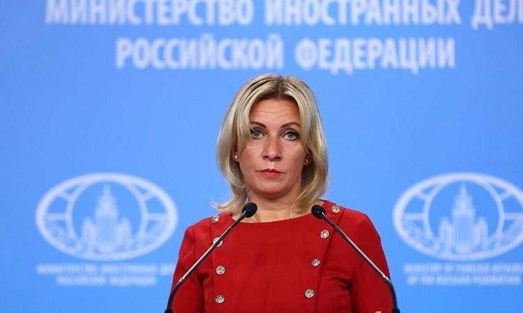 Người phát ngôn Bộ Ngoại giao Nga Maria Zakharova. Ảnh: Russian Foreign Ministry.