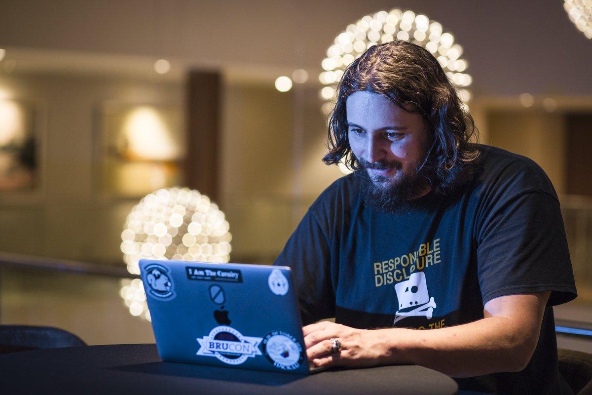Chuyên gia an ninh mạng Hà Lan Gevers. Ảnh: Twitter/HackerOne.