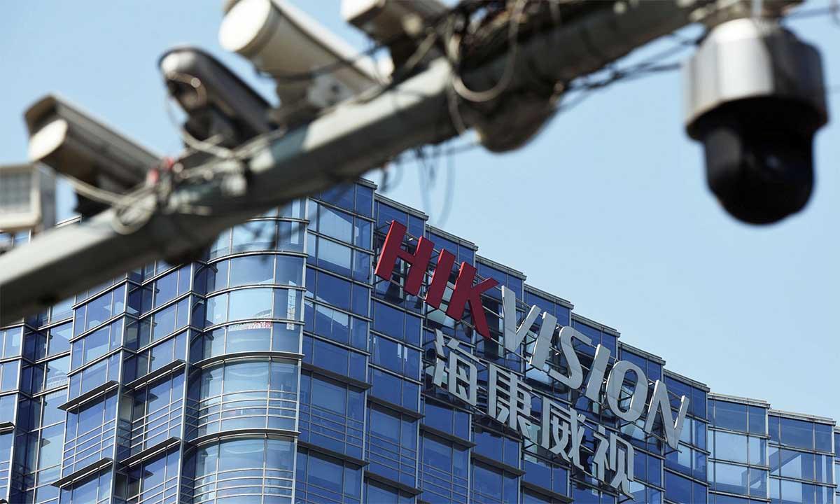 Trụ sở Hikvision tại Hàng Châu, Chiết Giang, Trung Quốc. Ảnh: Reuters.