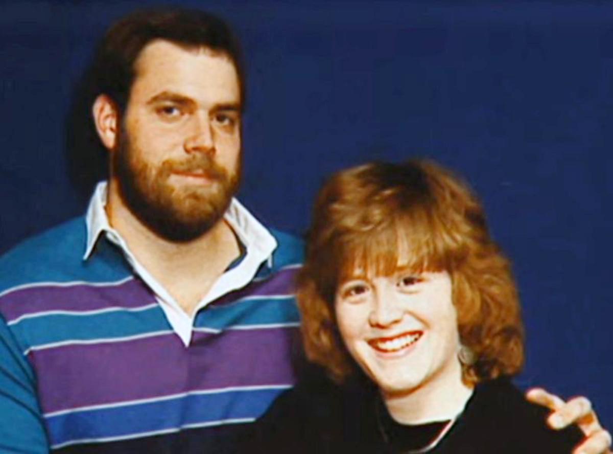 Stephen và vợ Kimberly.