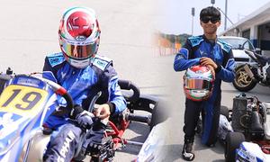 Cậu bé 13 tuổi luyện đua xe tốc độ cao