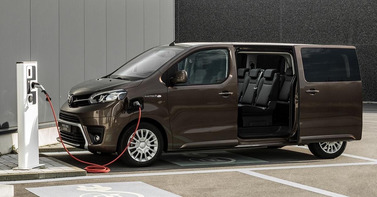 Toyota Proace Verso Electric sẽ ra mắt tại châu Âu