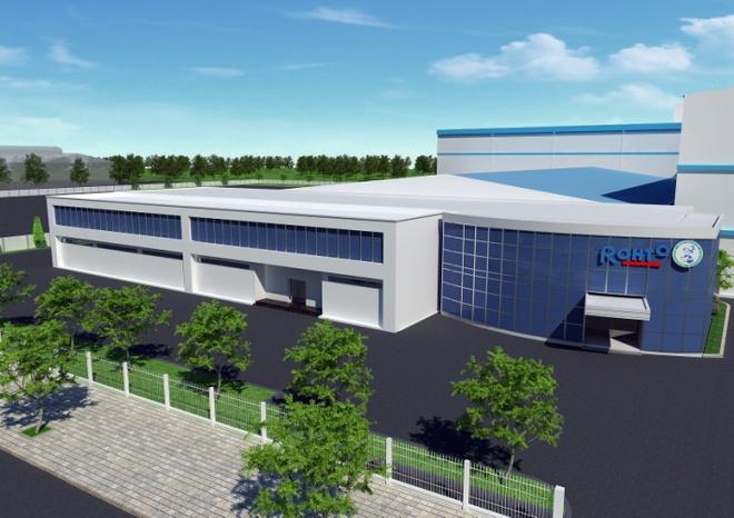 Nhà máy sản xuất mới tại Bình Dương. Ảnh: Rohto-Mentholatum.