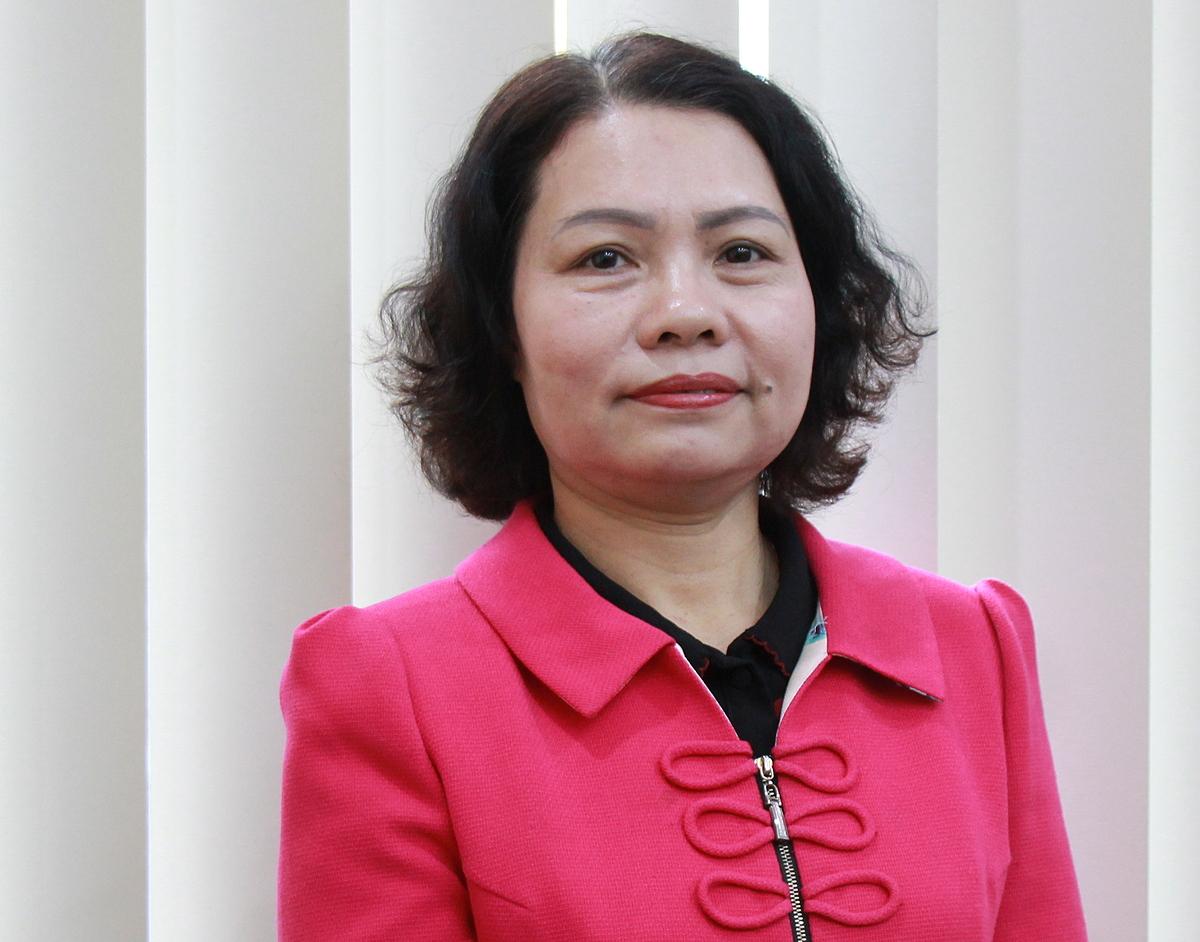 Bà Đinh Mai Hạnh - Phó trưởng ban Quản lý thu sổ, thẻ - Bảo hiểm xã hội Việt Nam.  Ảnh: Nhân vật cung cấp.