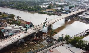 Cầu hơn 400 tỷ đồng ở Sài Gòn sắp hoàn thành