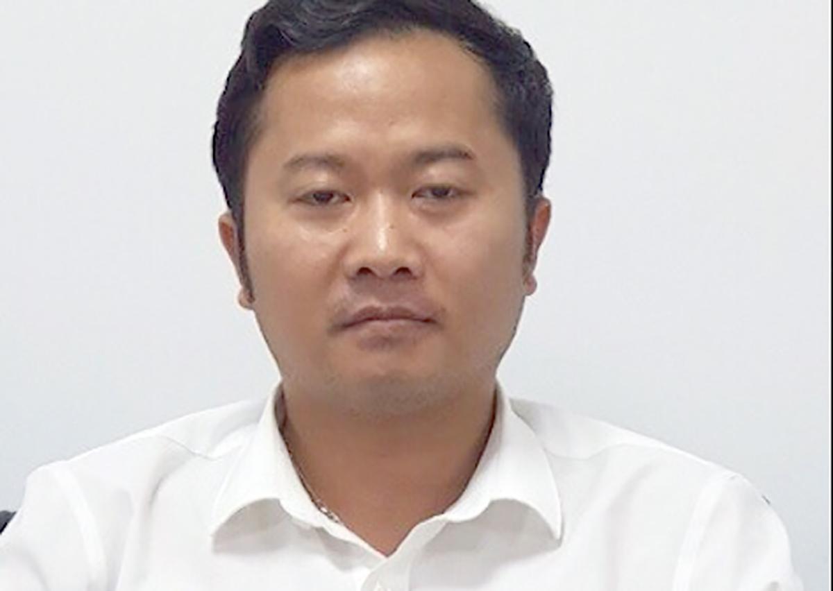 Cựu hiệu trưởng Dương Văn Hoà. Ảnh: Bộ Công an.