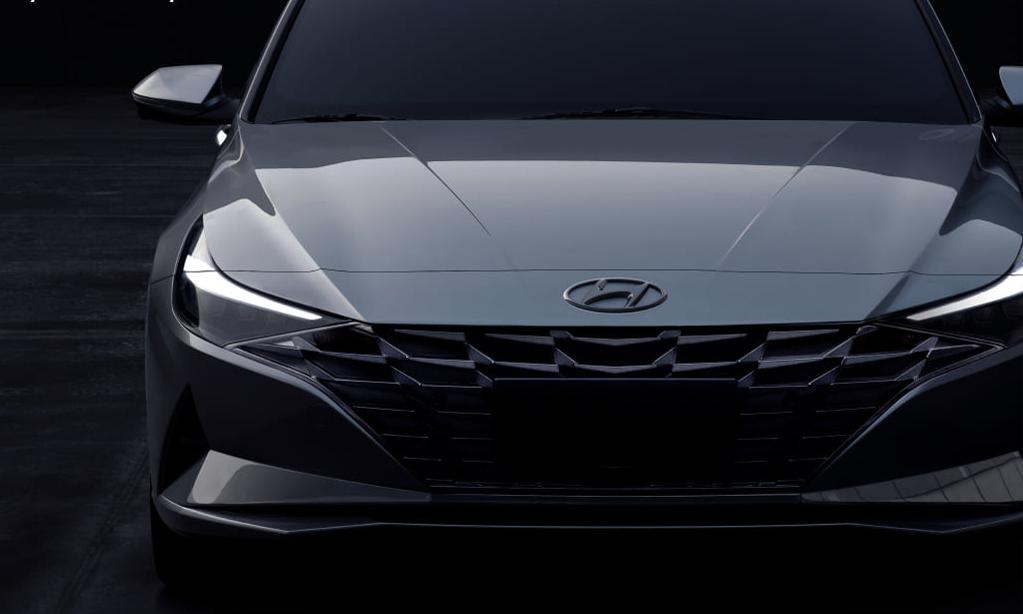 Ảnh Elantra thế hệ mới xuất hiện trên website của Hyundai Malaysia.