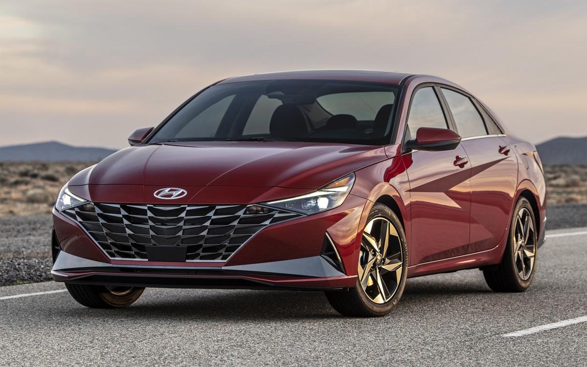 Elantra thế hệ mới tại Mỹ. Ảnh: Hyundai