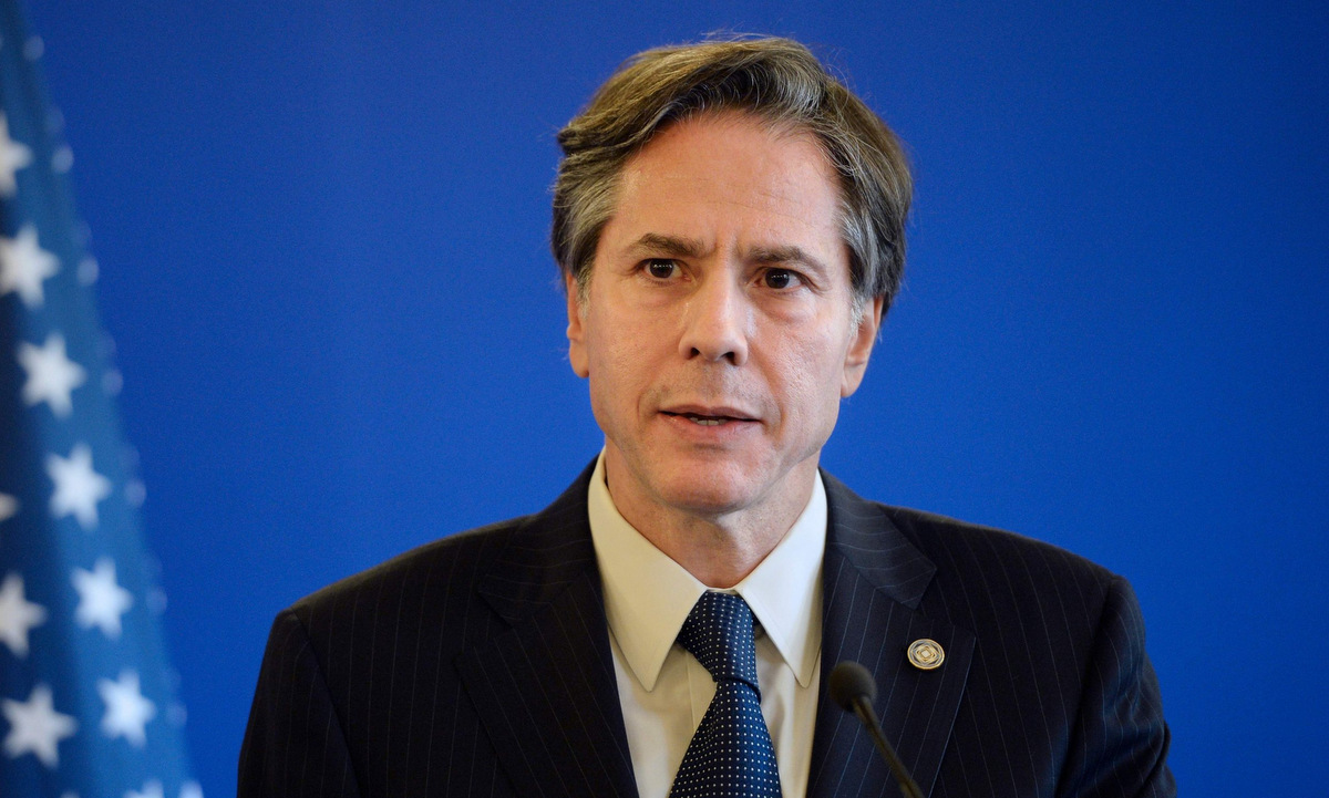 Cựu thứ trưởng ngoại giao Mỹ Antony Blinken. Ảnh: AFP.