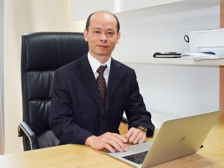 Ông Võ Trí Hảo, tân hiệu trưởng Đại học Gia Định. Ảnh: NHG.