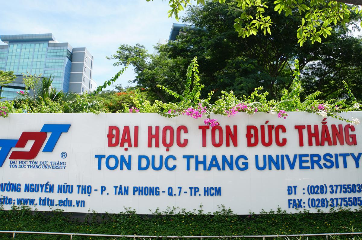 Cơ sở chính Đại học Tôn Đức Thắng tại TP HCM. Ảnh: Mạnh Tùng.