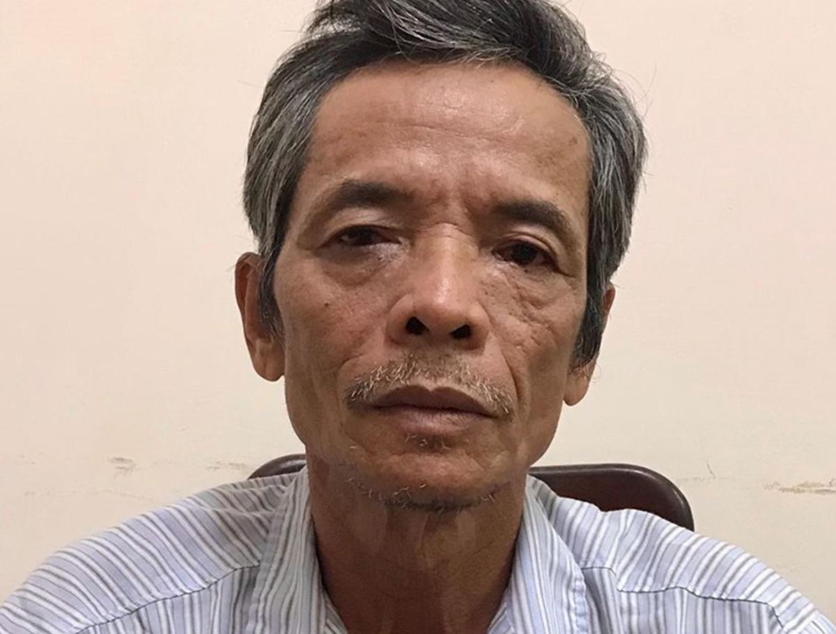 Lưu Tấn Thành bị bắt khi đang ở bệnh viện, tối 23/11. Ảnh: Công an cung cấp.