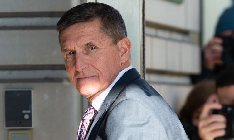 Michael T.Flynn, cựu cố vấn an ninh quốc gia của Tổng thống Donald Trump. Ảnh: AFP.