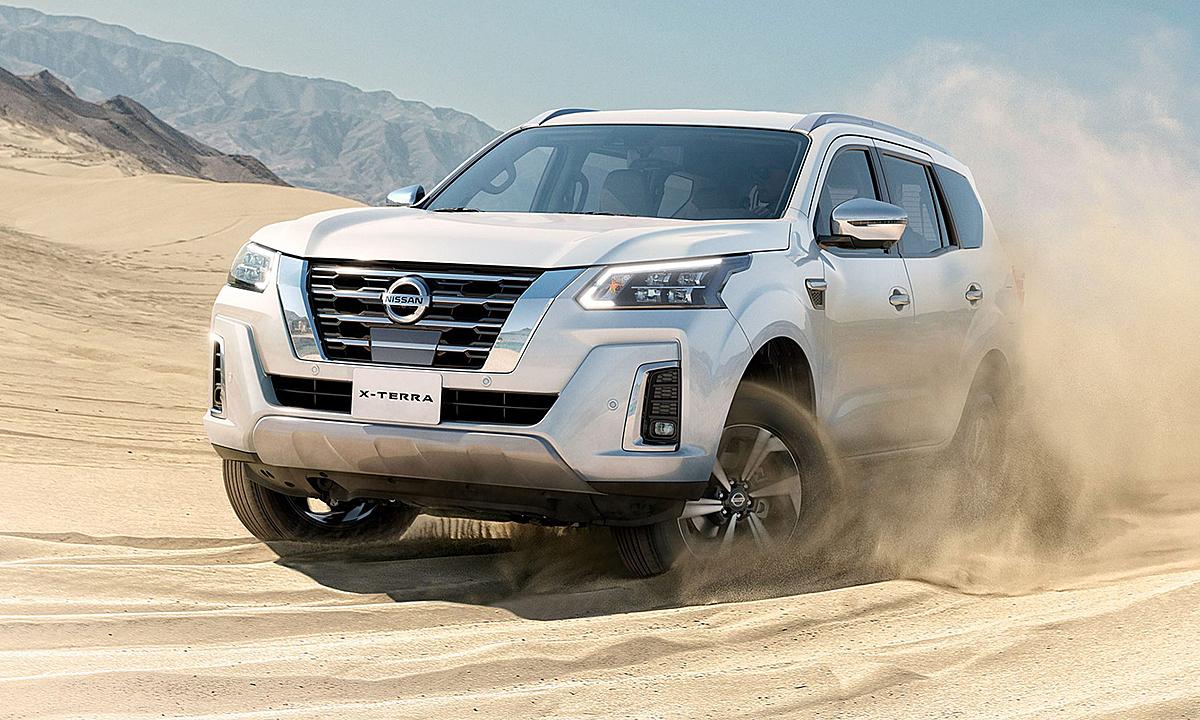 X-Terra 2021 tại thị trường Trung Đông. Ảnh: Nissan