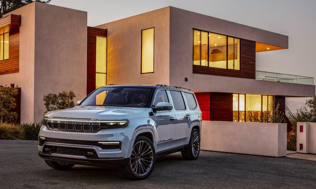 Mẫu Jeep Grand Wagoneer sắp ra mắt sẽ có hệ thống âm thanh đến từ McIntosh, hệ thống đầu tiên trên ôtô của thương hiệu cao cấp này sau gần hai thập kỷ. Ảnh: Jeep.