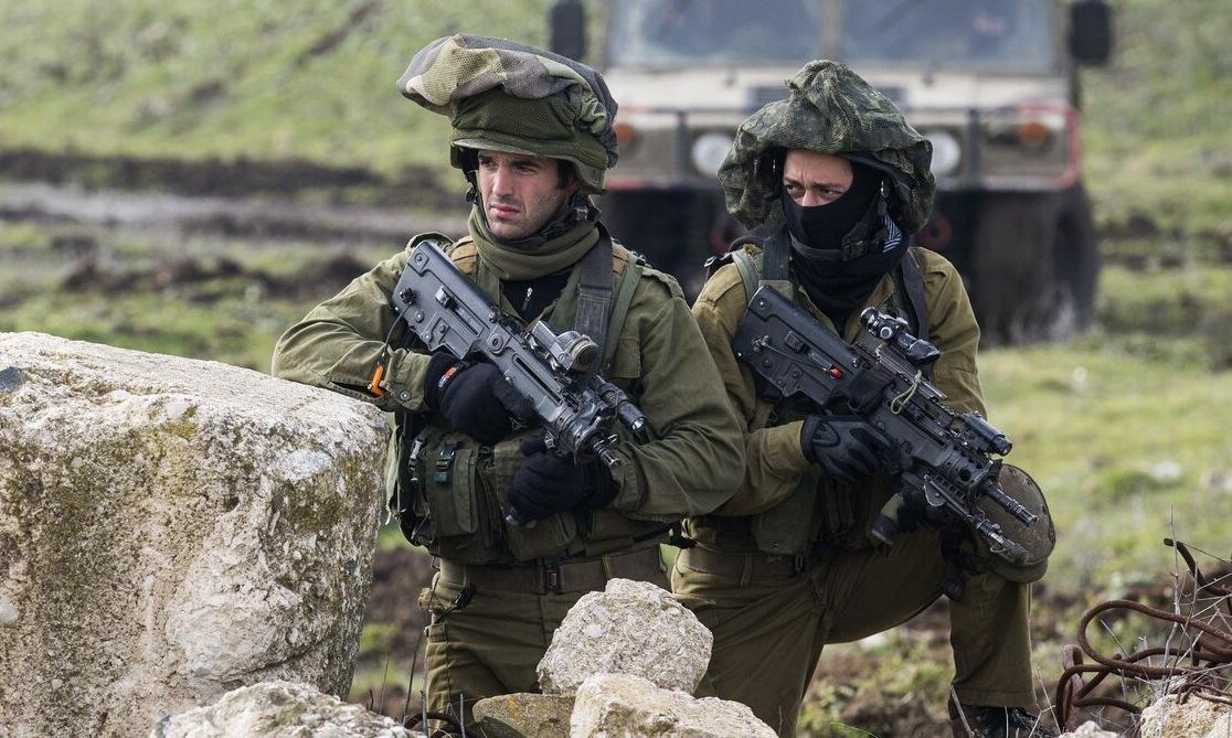 Binh sĩ Israel diễn tập gần biên giới Syria năm 2015. Ảnh: AFP.