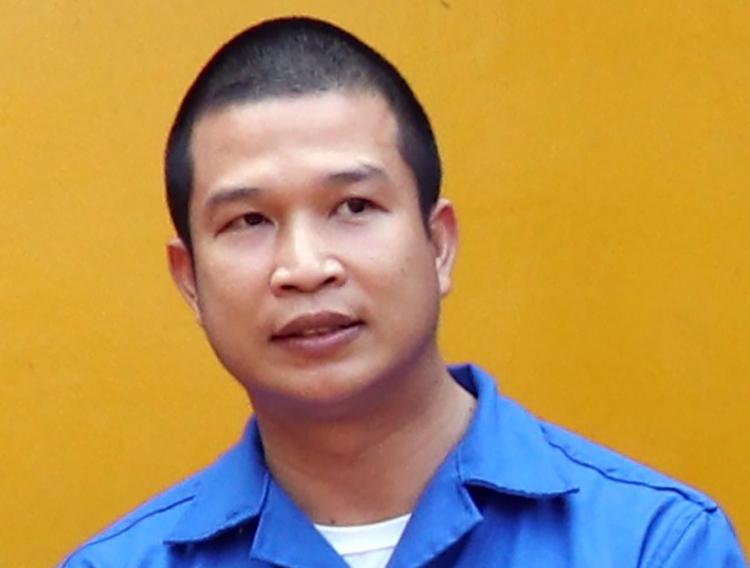 Phạm Văn Cung khi bị bắt. Ảnh: An Bình