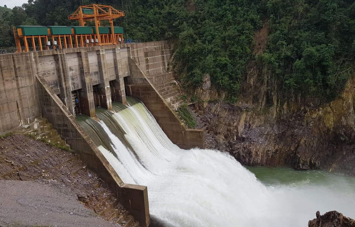 Thủy điện Thượng Nhật ở xã Thượng Nhật, huyện Nam Đông. Ảnh: Võ Thạnh.