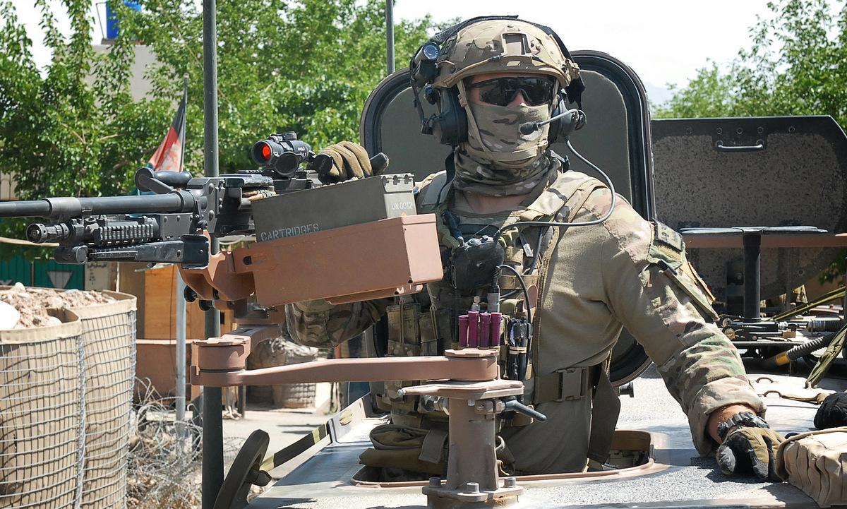 Đặc nhiệm Australia tuần tra ở  Afghanistan năm 2013. Ảnh: US Army.