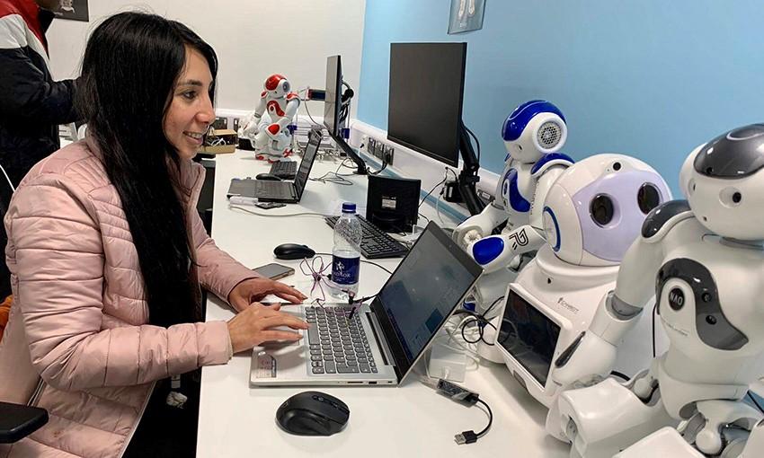 Phòng thí nghiệm EUREKA Robotics của Đại học Cardiff Metropolitan. Ảnh: Hội đồng Anh