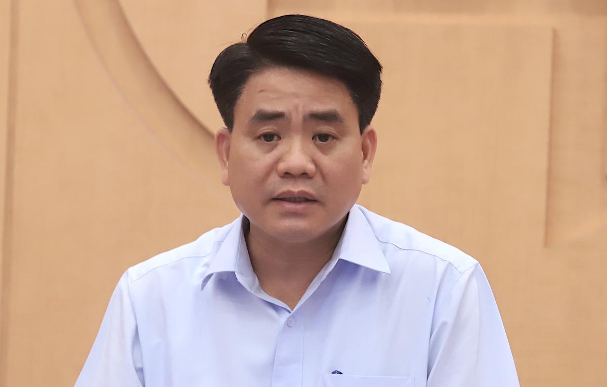 Ông Nguyễn Đức Chung hôm 5/8, 23 ngày trước khi bị bắt. Ảnh: Võ Hải