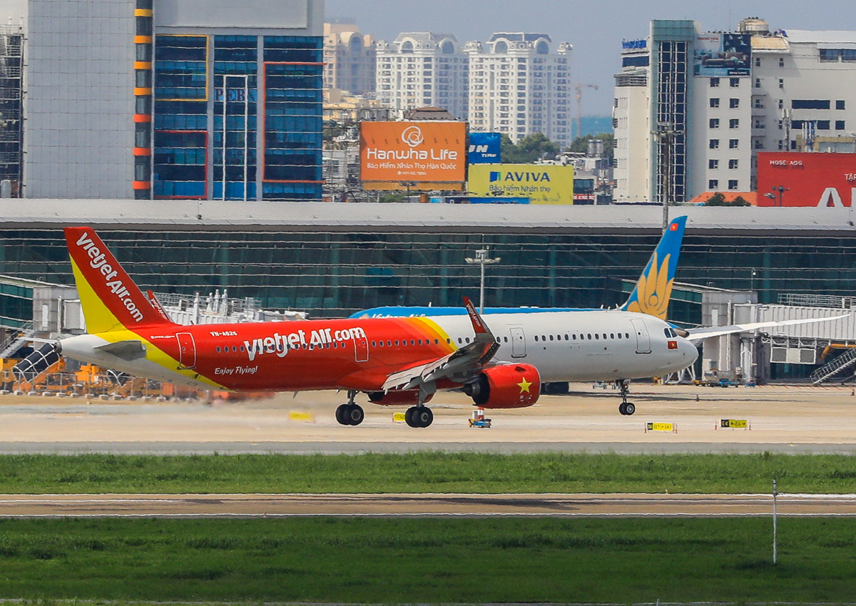All airlines experienced a reduction in revenue due to the covid-19 epidemic.  Photo: Quynh Tran.
