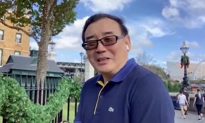 Nhà văn Yang Hengjun. Ảnh: Twitter/ yanghengjun.