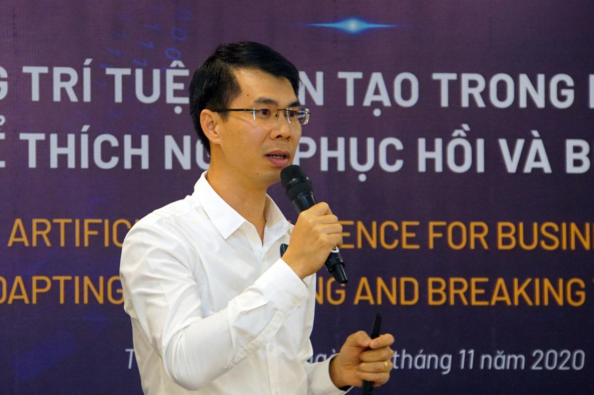 Ông Đỗ Văn Hải, chuyên gia tại Trung tâm Không gian mạng, Tập đoàn Viettel. Ảnh: Mạnh Tùng.