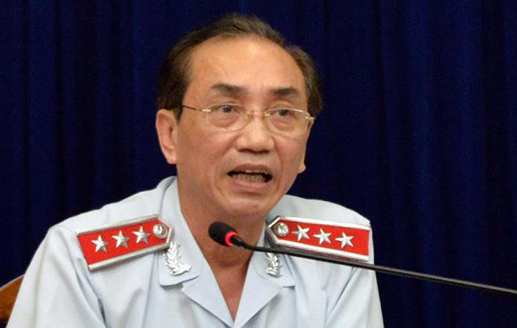 Phó tổng Thanh tra Chính phủ Đặng Công Huẩn chủ trì buổi đối thoại. Ảnh: Trung tâm báo chí TP HCM.