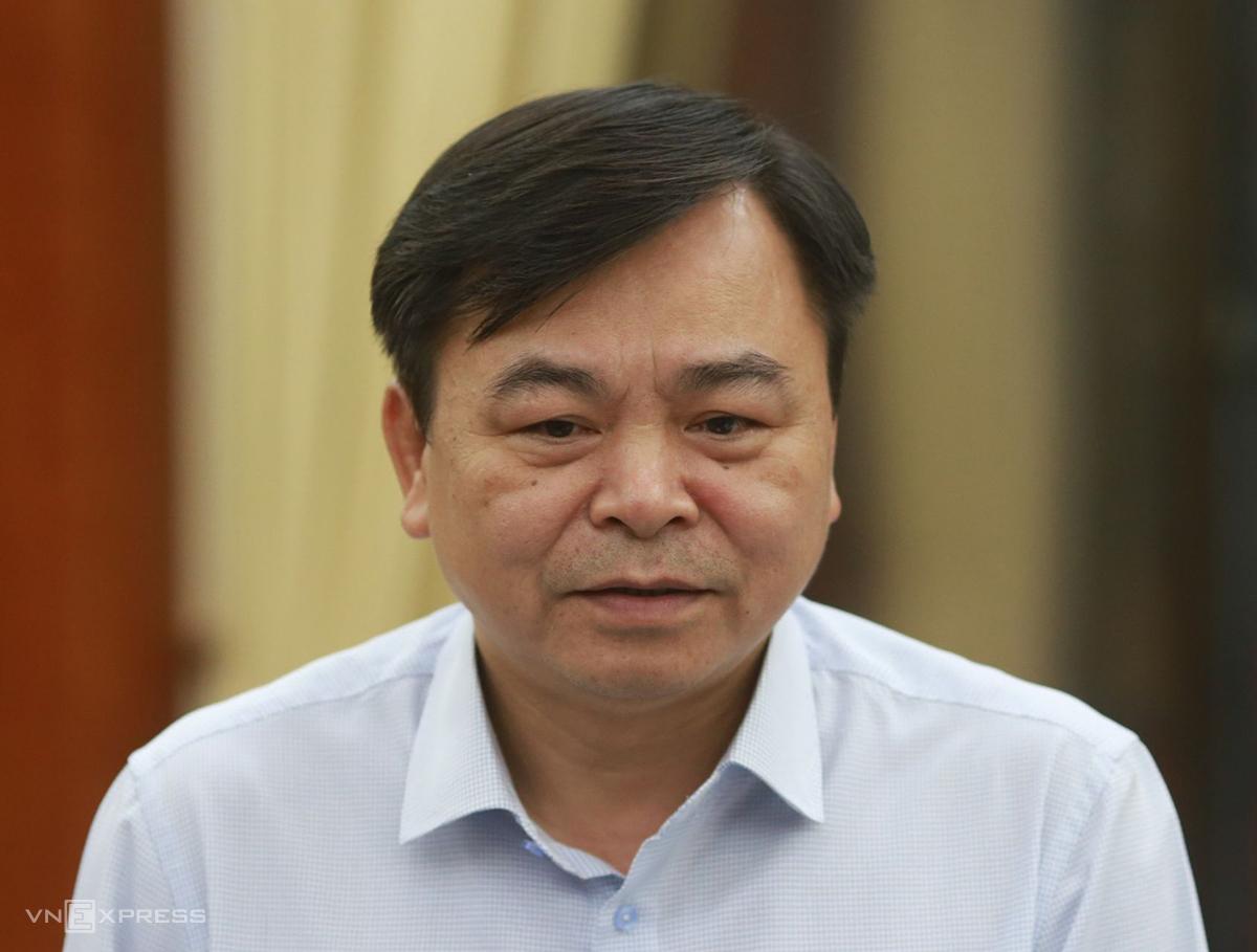 Thứ trưởng Bộ Nông nghiệp và Phát triển nông thôn Nguyễn Hoàng Hiệp. Ảnh: Tất Định.
