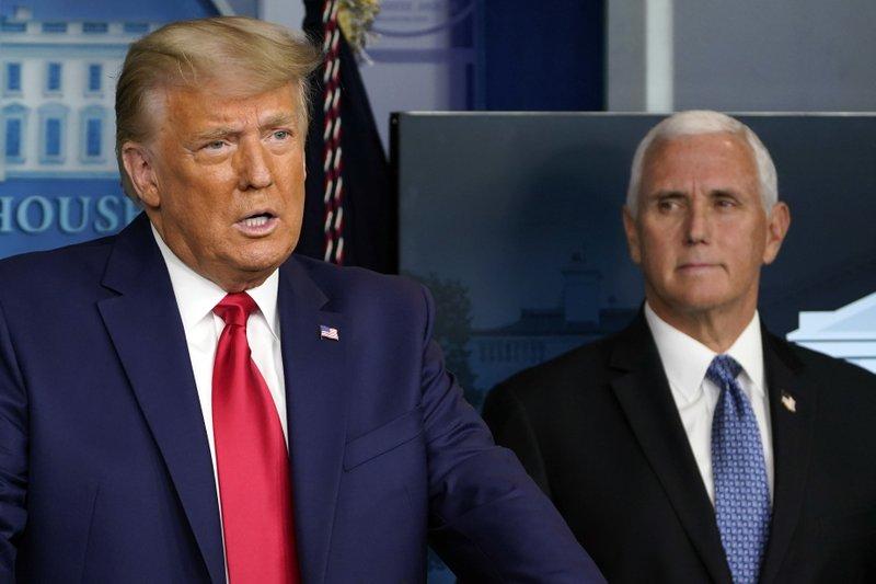 Tổng thống Trump phát biểu tại Nhà Trắng hôm 24/11. Ảnh: AP.