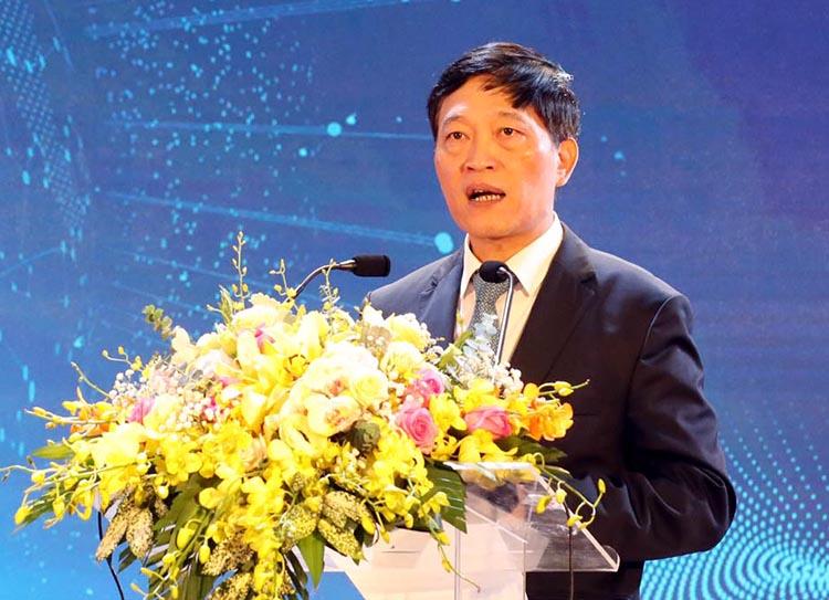 Thứ trưởng Trần Văn Tùng phát biểu tại diễn đàn. Ảnh: AT.