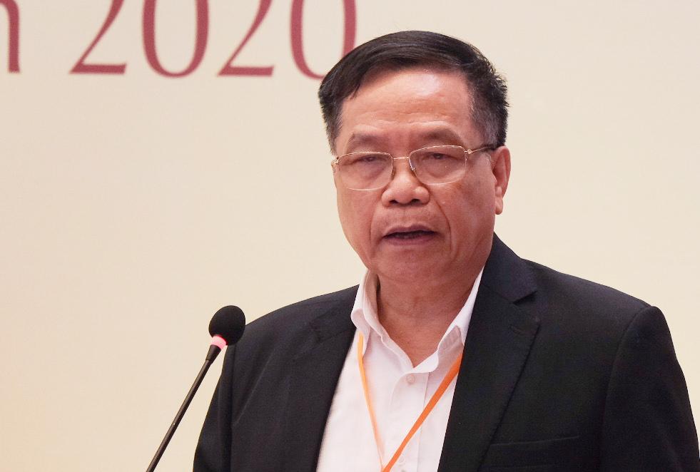 Ông Trần Đức Viên chia sẻ thực trạng tự chủ đại học. Ảnh: Dương Tâm.