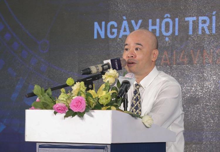 Ông Trương Văn Thắng cho biết Aus4Innovation sẽ tiếp tục dành kinh phí để hỗ trợ các ý tưởng sáng tạo. Ảnh: BTC.