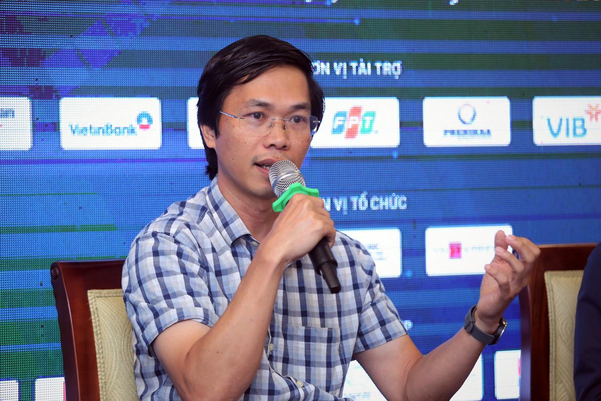 TS Vũ Hồng Việt, Công ty cổ phần FPT tại toạ đàm. Ảnh: BTC.