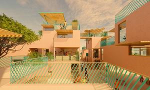 Nhà ở xây từ 8 tấn rác thải nhựa