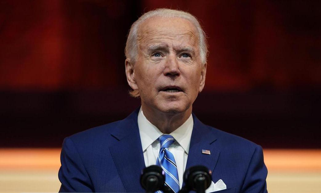 Tổng thống đắc cử Mỹ Joe Biden phát biểu tại thành phố Wilmington, bang Delaware, hôm 25/11. Ảnh: Reuters.