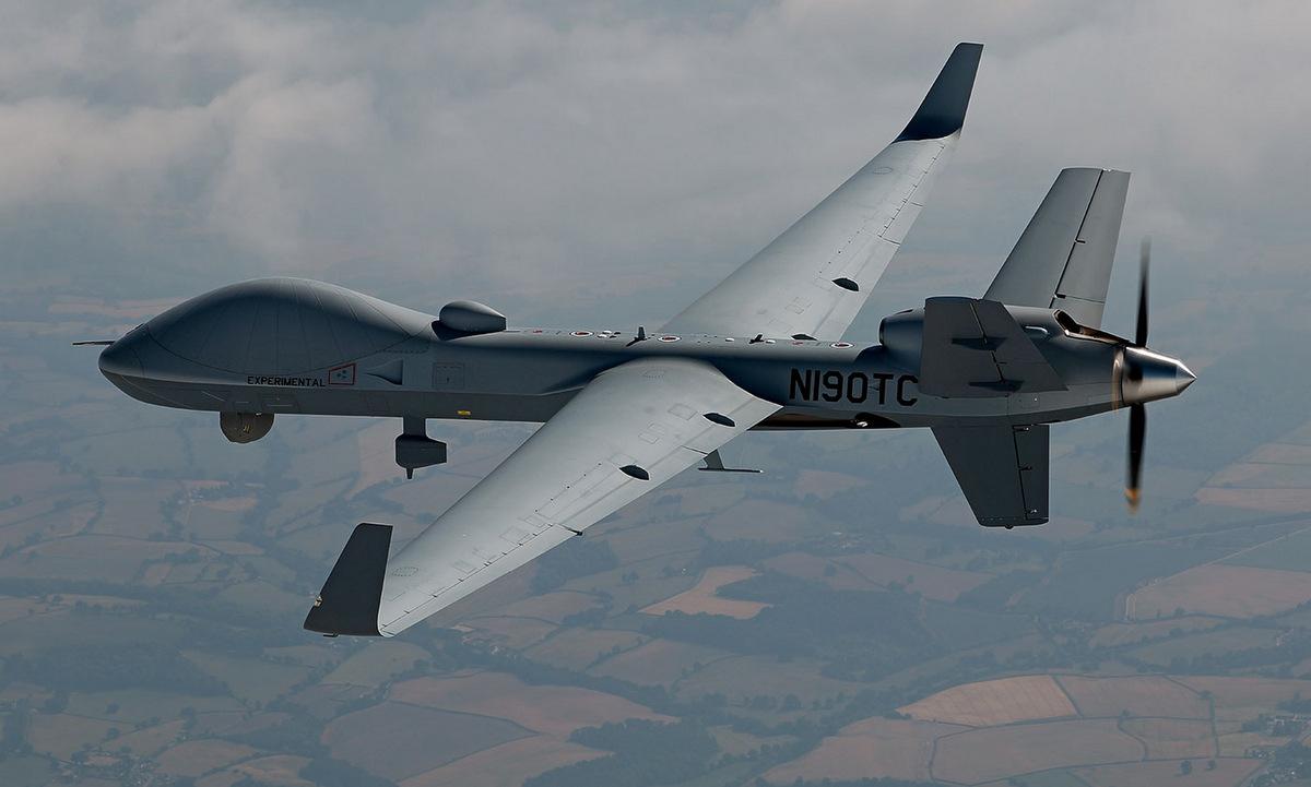 Nguyên mẫu MQ-9B của Mỹ bay thử. Ảnh: General Atomics.