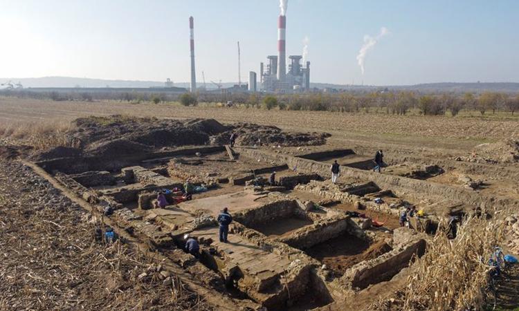 Căn cứ quân đội La Mã rộng 3.500 m2 tại Serbia. Ảnh: Reuters.