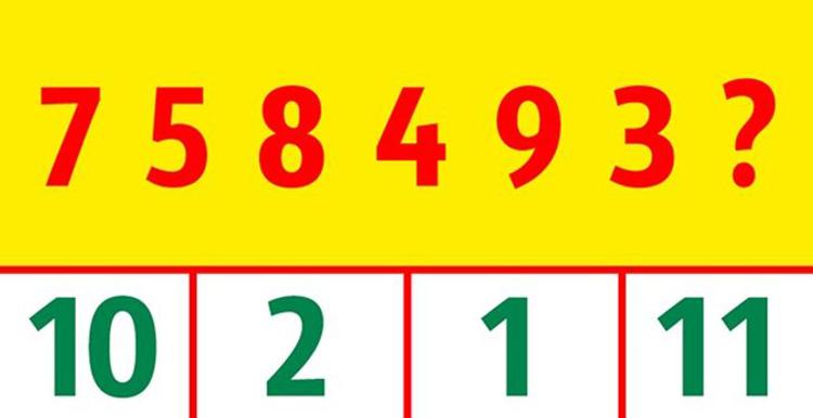 Năm câu đố đo sự nhanh trí - 8
